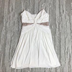 BCBG Elice White Dress NWOT Size 2
